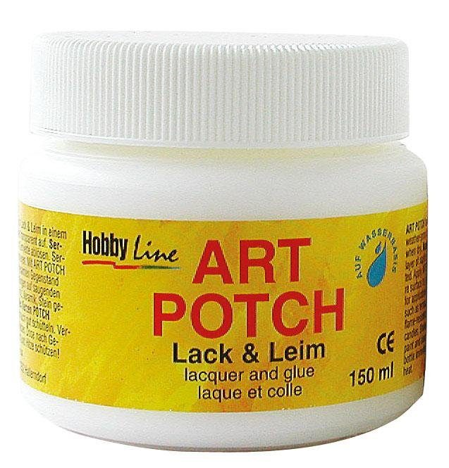 Hobby Line Serviettenlack Art Potch, matt, 150 ml